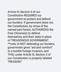Consitution Article 4, Section 4